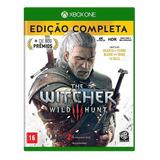 The Witcher 3 Wild Hunt Conteúdo Extra Xbox One Mídia Física