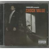 Timbaland   Presents Shock Value   Cd Usado   Rap