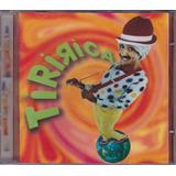 Tiririca   Cd Tiririca   Cartela Adesivos   1997    Seminovo