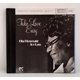 Tk0m Cd Ella Fitzgerald Joe Pass Take Love Easy Xrdc Import