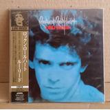Tk0m Cd Lou Reed Rock And Roll Heart Mini Lp Edição Japonesa