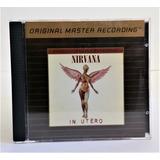 Tk0m Cd Nirvana In Utero 24k Gold Importado