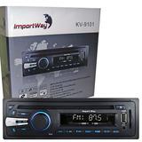 Toca Cd Mp3 Player Automotivo Usb Sd Fm Rádio Menor Preço