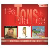 Três Tons De Rita Lee   Box Com 3 Cds