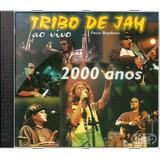 Tribo De Jah Ao Vivo 2000 Anos   Novo Lacrado Original