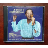 Tribute To Smokey Robinson Cd Orig Imp Soul Funk Groove