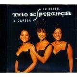 Trio Esperança 1992 A Capela Do Brasil Cd Casaco Marrom
