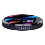Tv Box H96 Max X3 De Voz 8k 32gb Preto Com 4gb De Memória Ram
