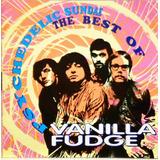 Vanilla Fudge Cd Psychedelic Sundae The Best Of
