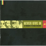 Various  Never Give In  A Tribute To Bad Brains Cd Raro Veja