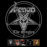 Venom The Singles 5 Cds Box Set In League With Satan Manitou