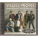 Village People   Greatest Hits Remix   Cd Usado Excelente