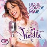 Violetta Hoje Somos Mais    Cd Pop