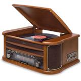 Vitrola Toca discos Raveo Ópera Bt Bluetooth K7 Cd Fm Usb