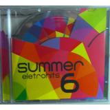 Vol 6 Cd Summer Eletrohits Funk  Eletrônico Raro Novíssimo