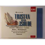 Wagner Box Imp 4 Cds Tristan Und Isolde 1994 Von Karajan Emi