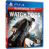 Watch Dogs Para Ps4 Cd Blu ray Midia Fisica Original Lacrado