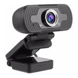 Webcam Com Micro-fone Live Make Alta Resolução Full Hd 1080p