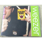 Weezer Cd Single Promo Hash Pipe Raro Importado Novo