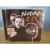 Whodini Cd Six Hip Hop Flash Rap Zerado Sem Uso