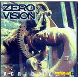 Zero Vision 1994 Acrid Taste Cd Com Letras