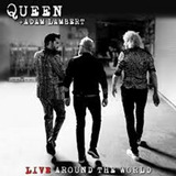 adam lambert-adam lambert Cd Queen Adam Lambert Live Around The World