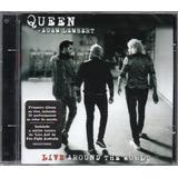 adam lambert-adam lambert Queen Adam Lambert Cd Live Around The World Novo Lacrado