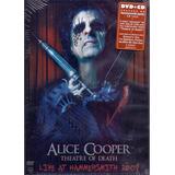 alice cooper-alice cooper Cd Dvd Alice Cooper Theatre Of Death Live Hammersmith