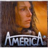 america-america Cd Duplo America Trilha Sonora Novela