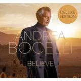 andrea bocelli-andrea bocelli Cd Andrea Bocelli Believe deluxe Edition