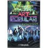 art popular-art popular Art Popular Dvd Cd Revolution Novo Original Lacrado