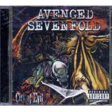 avenged sevenfold-avenged sevenfold Cd Avenged Sevenfold City Of Evil