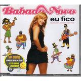 babado novo-babado novo Claudia Leitte Babado Novo Cd Single Eu Fico 2 Versoes Raro