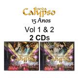 banda calypso-banda calypso Banda Calypso 2 Cds 15 Anos Vol 1 2 Novo Lacrado