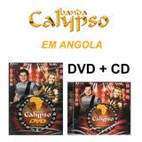 banda calypso-banda calypso Banda Calypso Dvd Cd Em Angola Novo Lacrado