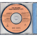bee gees-bee gees Bee Gees The Record Their Greatest Hits Cd Promocional Novo