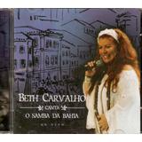 beth carvalho-beth carvalho Cd Beth Carvalho Canta O Samba Na Bahia Ao Vivo