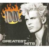 billy idol-billy idol Cd Billy Idol Greatest Hits Novo Lacrado Digipack