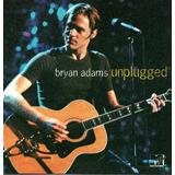 bryan adams-bryan adams Cd Bryan Adams Unplugged Lacrado