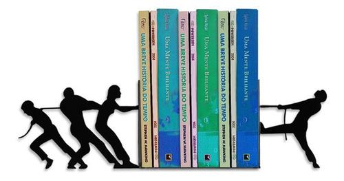conecrewdiretoria-conecrewdiretoria Suporte Aparador De Livro Dvd Cds Cabo De Guerra