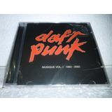 daft punk-daft punk Cd Daft Punk Musique Vol 1 1993 2006 Br Novo Lacrado