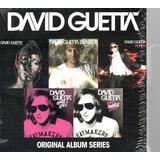 david guetta-david guetta Cds David Guetta 4 Albuns Original Album Serie
