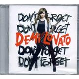 demi lovato-demi lovato Cd Demi Lovato Dont Forget