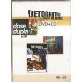 detonautas-detonautas Dvd Detonautas Roque Clube Dose Dupla Vip dvd cd