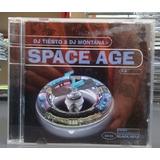 dj tiësto-dj tiesto Cd Space Age 20 Dj Tiesto Dj Montana Importado