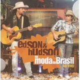edson e hudson-edson e hudson Cd Edson Hudson Na Moda Do Brasil Digipack