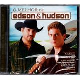 edson e hudson-edson e hudson Edson Hudson Cd O Melhor De Novo Lacrado