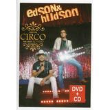 edson e hudson-edson e hudson Edson Hudson Dvd cd Faco Um Circo Pra Voce Ao Vivo Novo