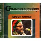edson gomes-edson gomes Cd Edson Gomes Vol 1 Grandes Sucessos