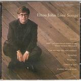 elton john-elton john Cd Elton John Love Songs Novo